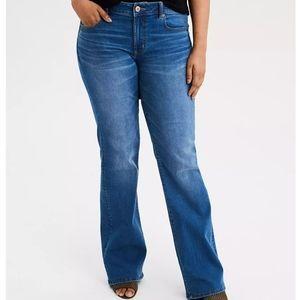 American Eagle Favorite Boyfriend Flare Leg Jeans
